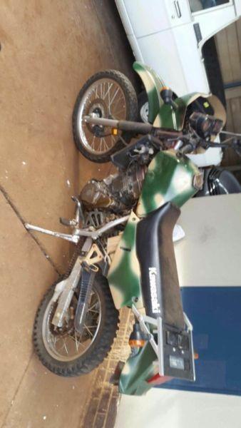 2003 Kawasaki KLR