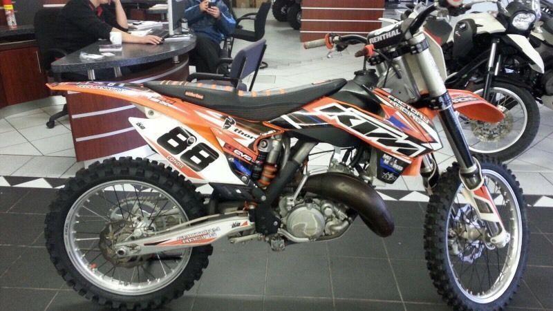 KTM 125 SX , KTM 500 EXC