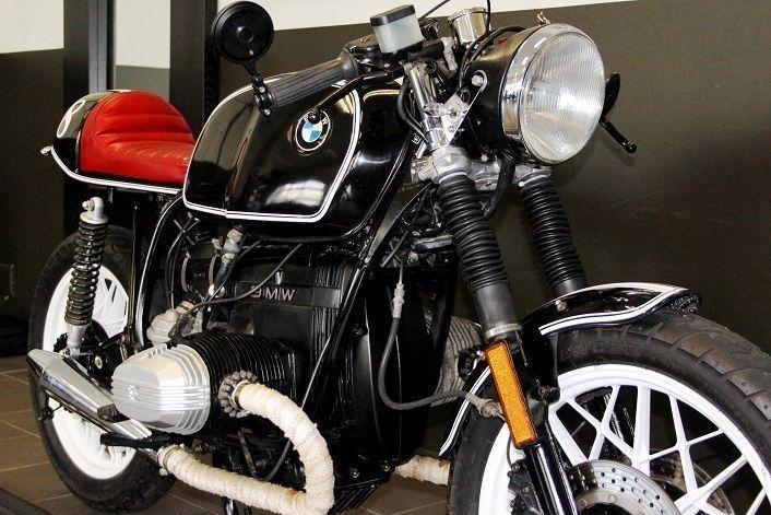 1982 BMW R80 CAFE RACER BLACK - BEAUTIFUL MACHINE