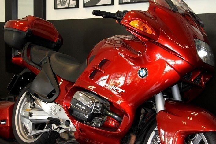 1996 BMW R1100RT RED WITH PANNIERS & TOP BOX - IMMACULATE