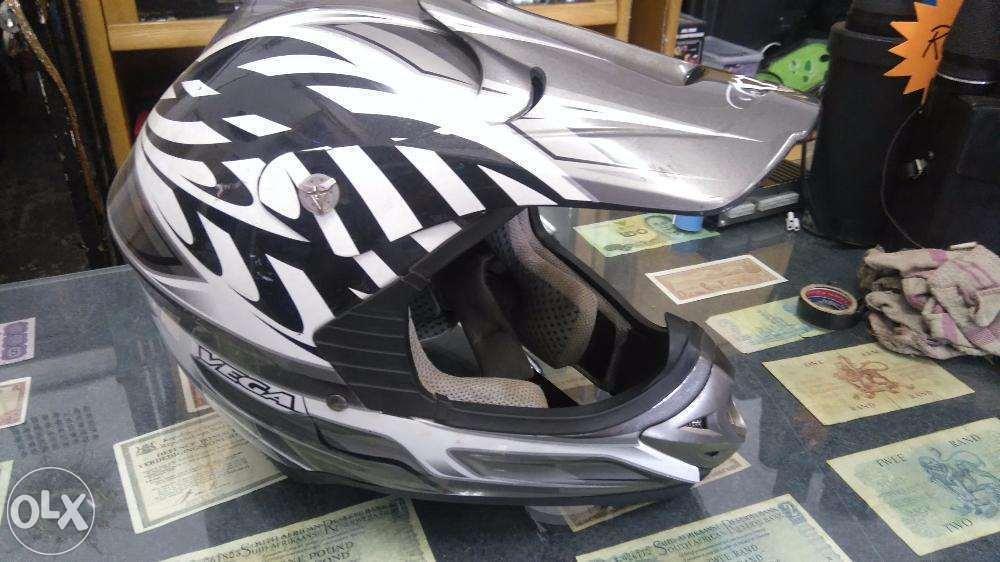 Offroad bike helmet