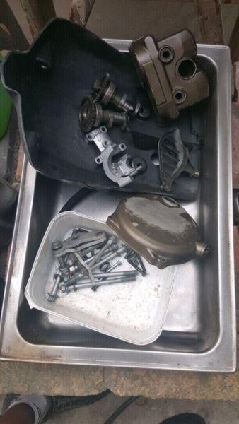 Kawasaki kx250f parts
