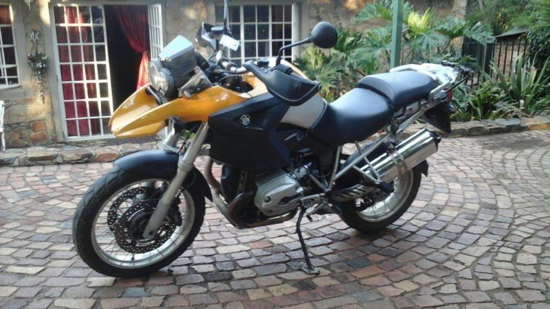 2005 BMW 1200GS, 2005, YELLOW @ R50 000.00