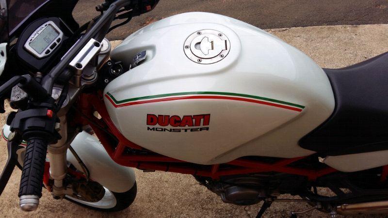2008 Ducati Monster cafe racer