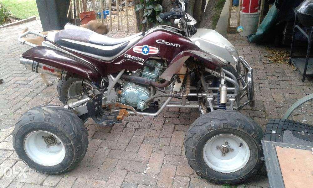 Conti 4-Wheeler Motorbike For Sale