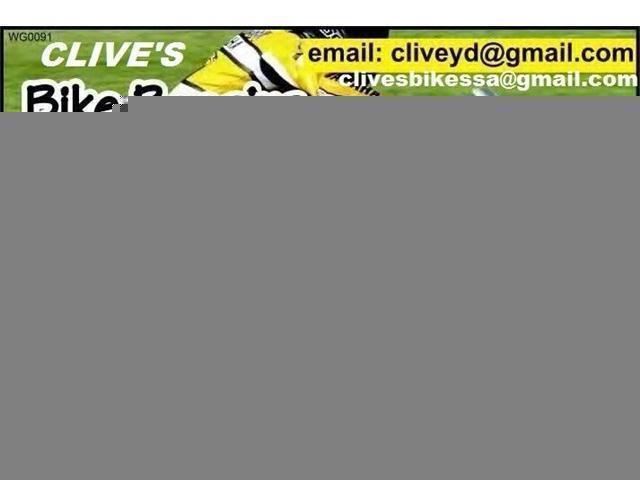 BIKES REPAIRS TO BIGBOY/KAWASAKI,SUZUKI@CLIVES BIKES OPEN 6 DAYS A WEEK