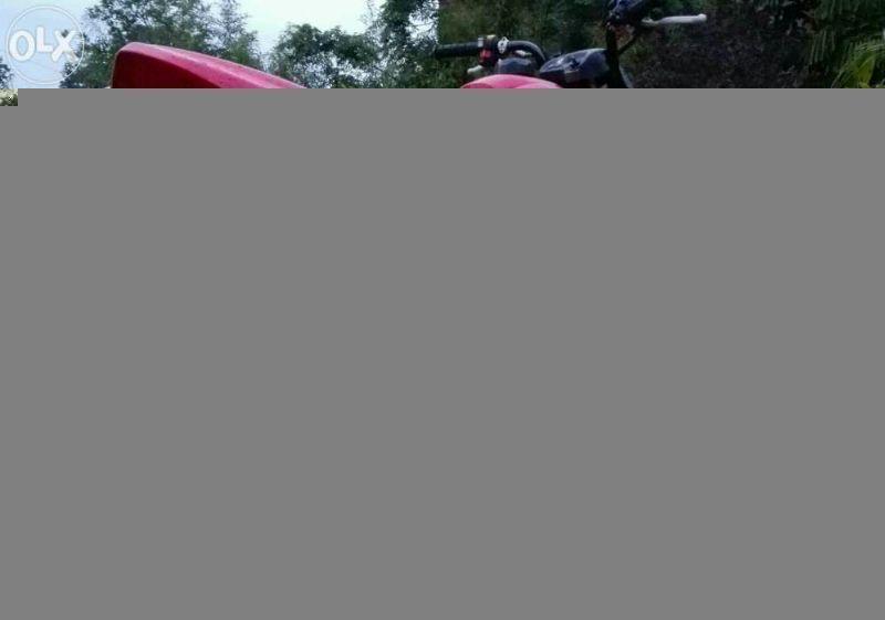 Honda sportrax quad bike
