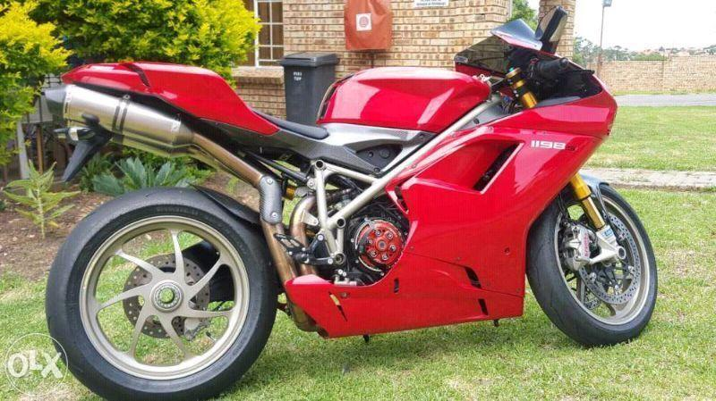 Ducati 1198s, 2009