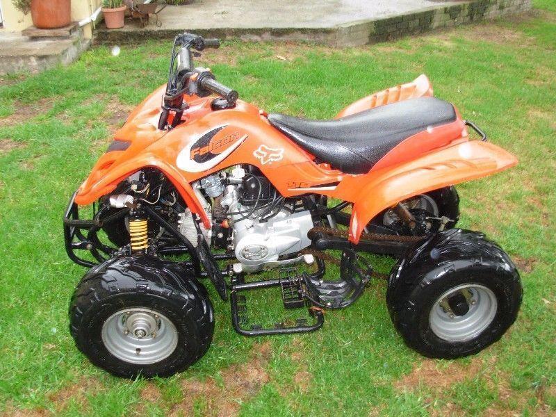 kazuma 110cc four wheeler