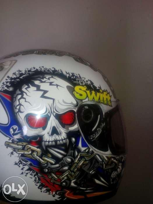 Helmet, bike cover and jacket for sale