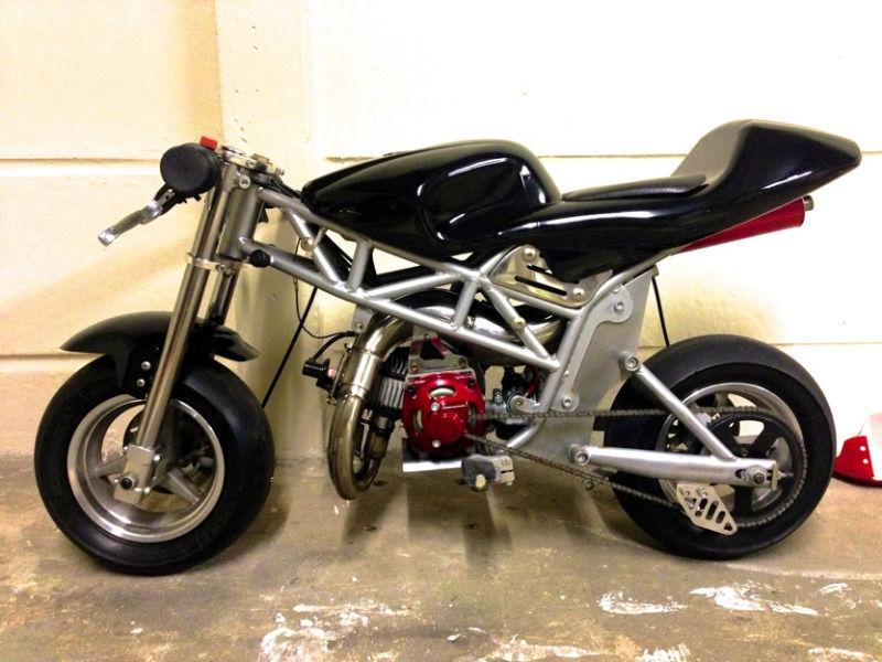 Performance Mini-moto Racing Pocket Bike 50cc