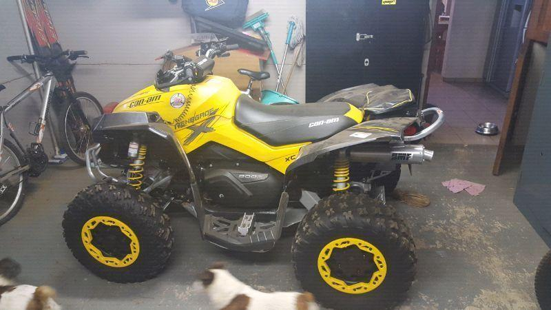 Can-am renegade Xc 800 21.4 hours