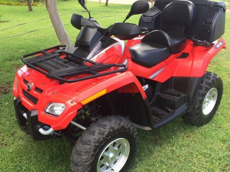 2007 Can-Am Outlander 650cc double seater