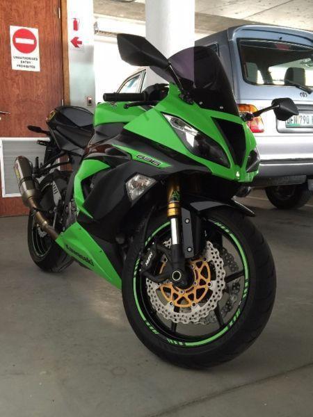 2013 Kawasaki Ninja zx636