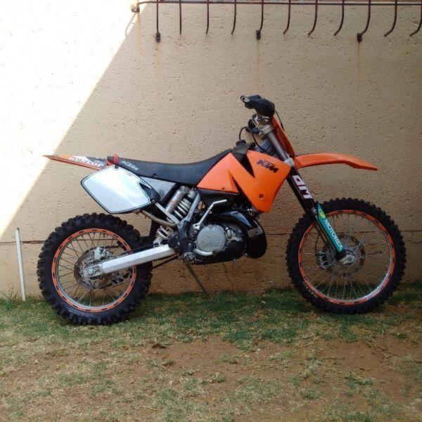 2003 KTM EXC