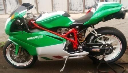2005 Ducati Monster 999 plenty extras