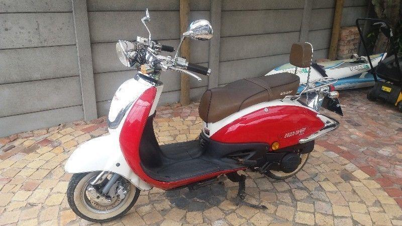 Big boy revival scooter