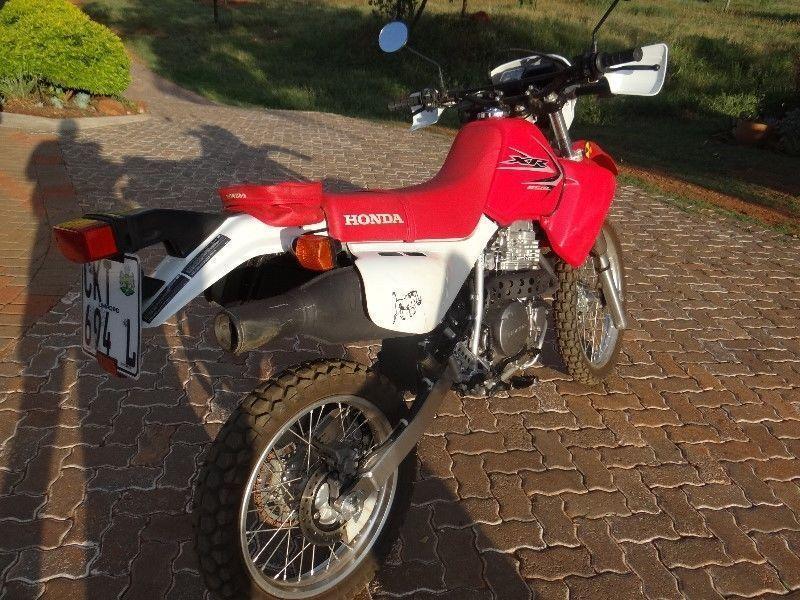 2012 Honda XR
