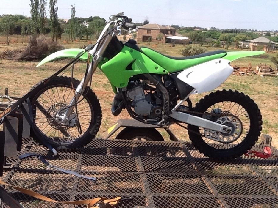 Parts for Kawasaki KX 125