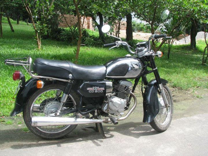 BRILLIANT PROJECT - Honda CD200 ROADMASTER