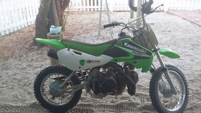 Kawasaki Klx 110 - Brick7 Motorcycle