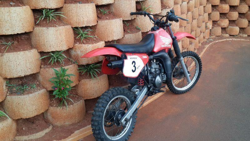 Honda CR80 Dirt Bike... Excellent Running Condition