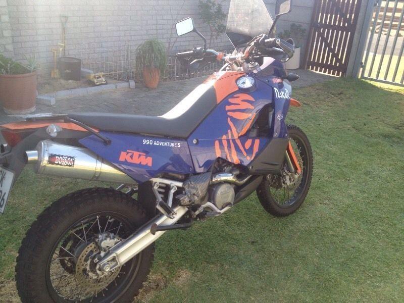 KTM 990 S Dakar