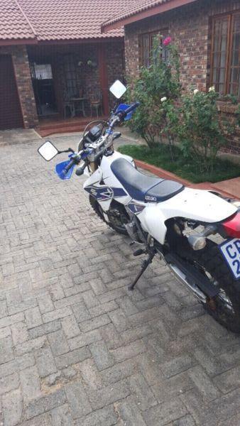 Motorbike suzuki drz400sm 2007