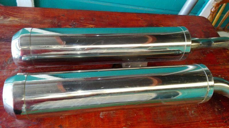 Zx14 standard exhaust pipes
