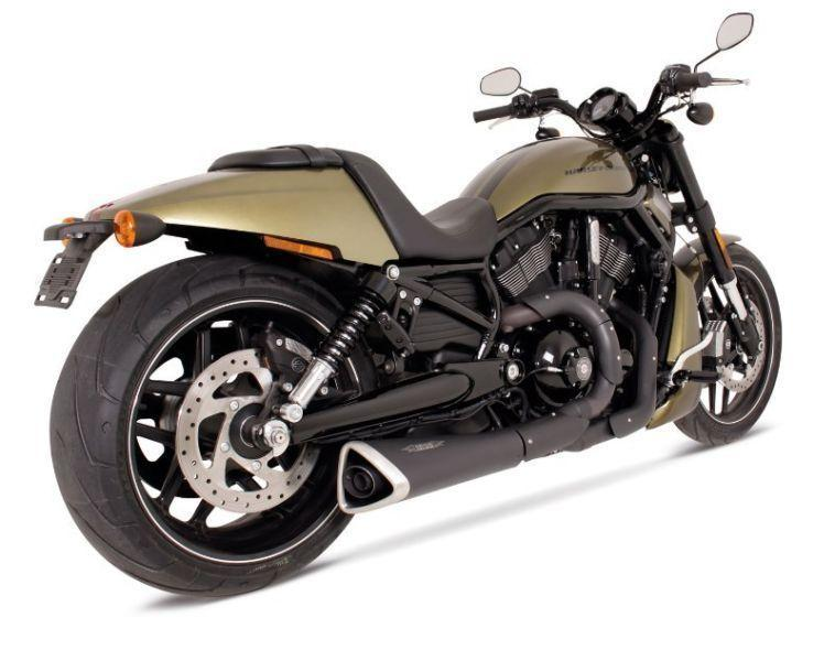 2007 - 2016 Harley-Davidson VRSC Night Rod / Special REMUS 2 into 1 CustomCone Racing exhaust System