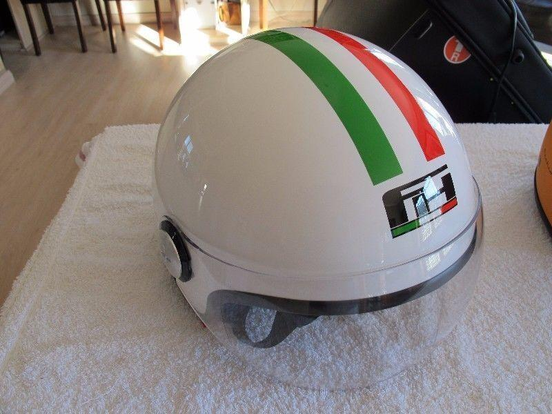 Italian Design and Manufactured Fashion Helmets - about 30 in stock, sizes: xs-xl