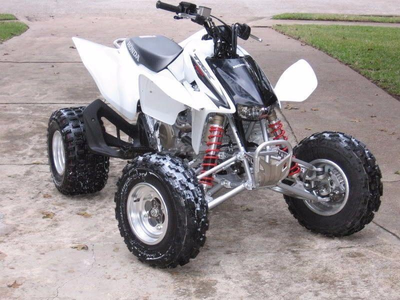 2007 HONDA TRX450RE QUAD