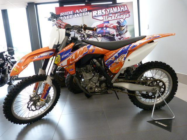 KTM 250SX with Full FMF exhaust pipe 2014!