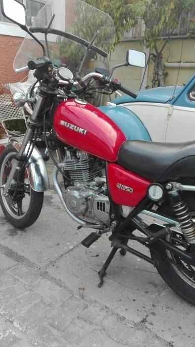 Suzuki gn 250cc for sale or swop