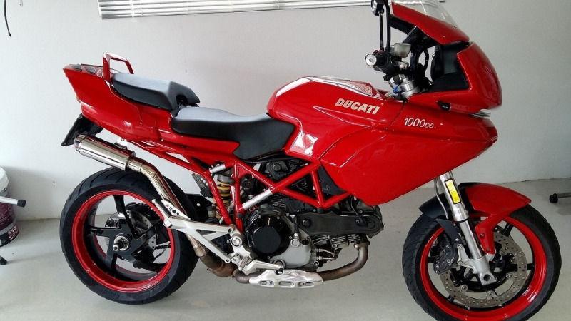 2005 Ducati Multistrada 1000DS Sport Touring