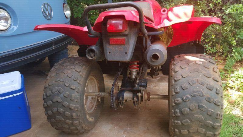 Adly moto quad bike