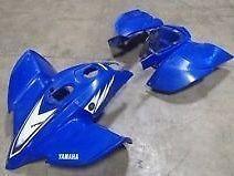 YFZ 450 Plastics (Blue)
