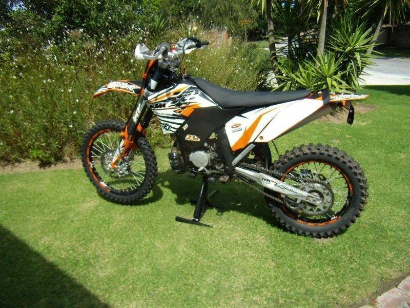 2008 KTM EXC 200 Off Road Motorcycle - ALAN LEWIS MOTORCYCLES