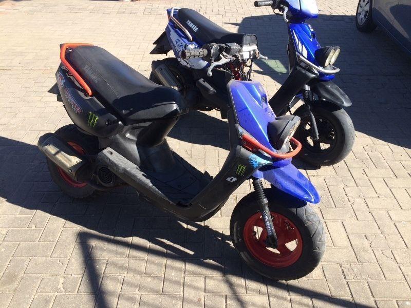 Yamaha bws scooter brick7 motorcycle for Yamaha bws 100 for sale