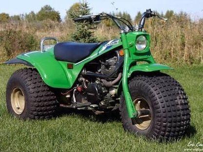 Wanted Kawasaki KLT parts bike