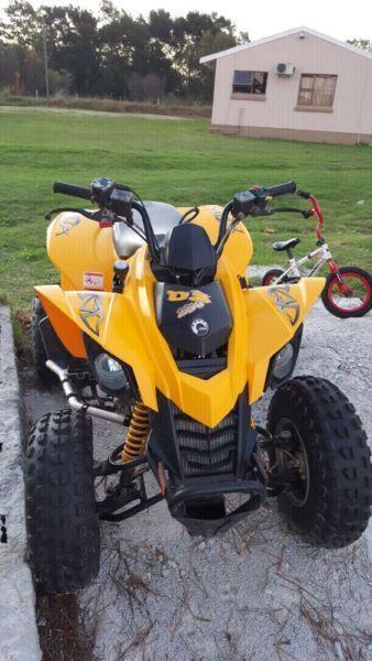 Canam DS250 Quad