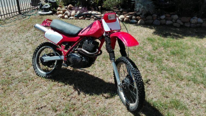 1982 Honda Xr 500
