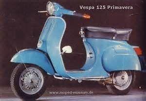 1978 Vespa Primavera 125cc required to strip for spares