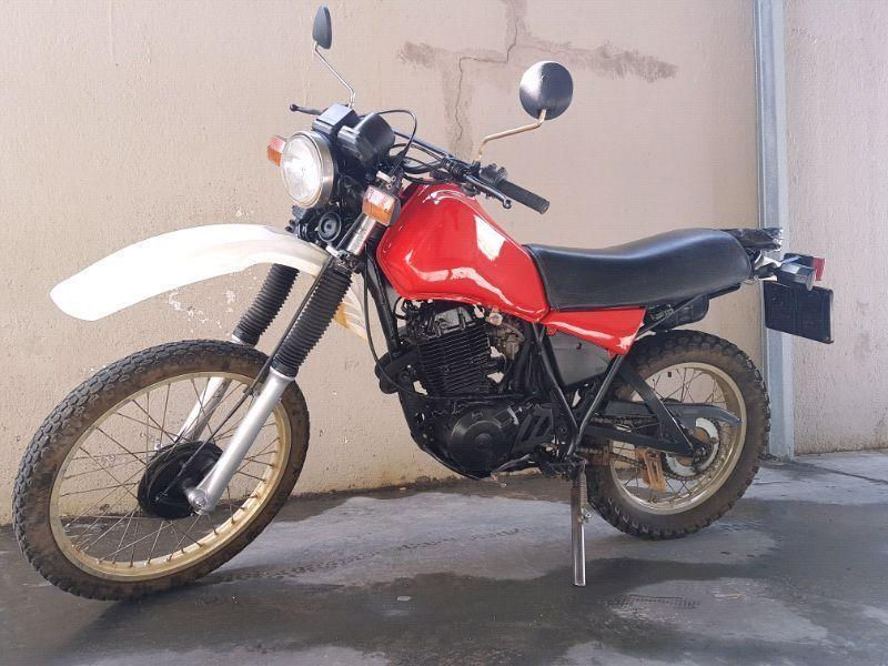 XT 550 - Restored and Licenced