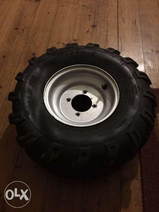 Quad rims and tyres
