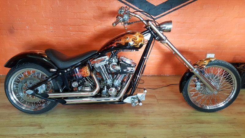 Harley Custom Chopper