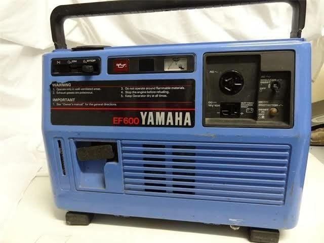 Yamaha EF 600 generator for sale