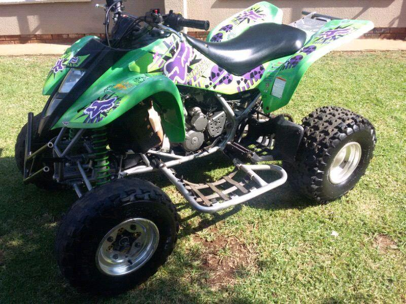 Kfx 400 quad