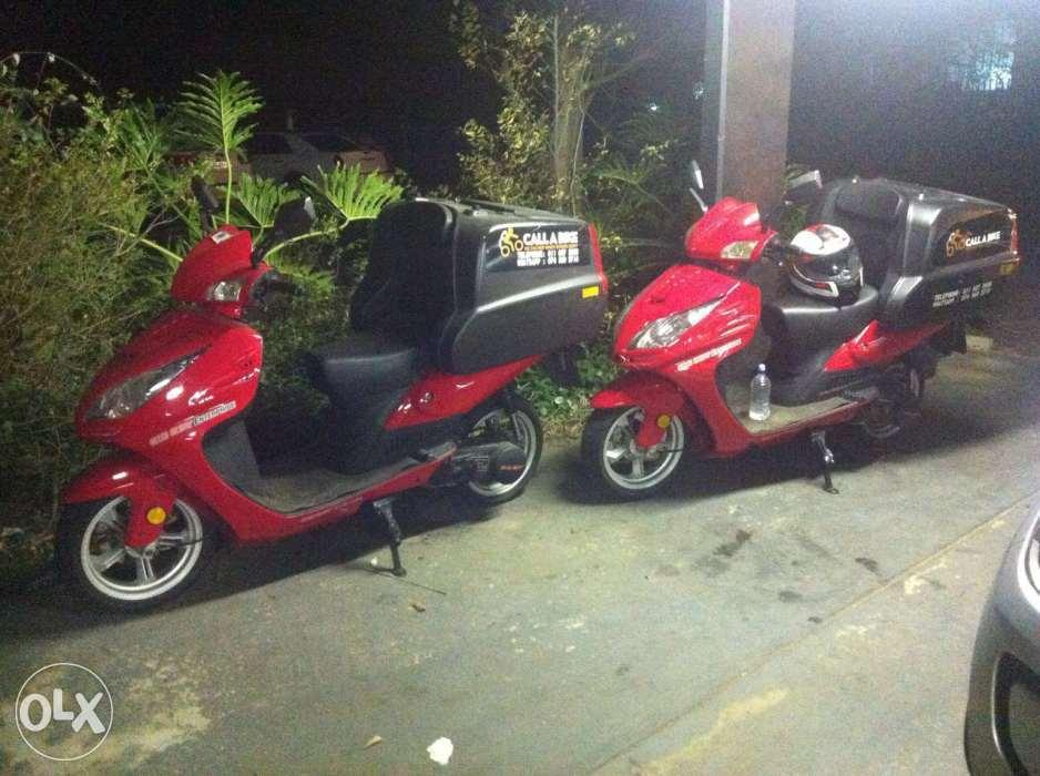 2 big boy scooters