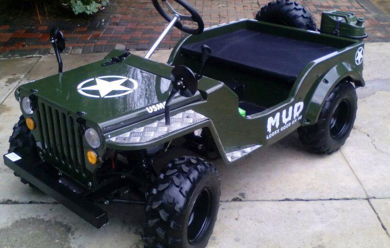 Groovy Mini Jeep - Brick7 Motorcycle QE-01